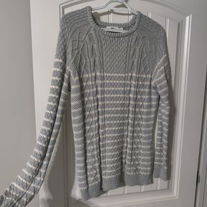 Vineyard Vines Cable Knit Crew Neck Knit Sweater
